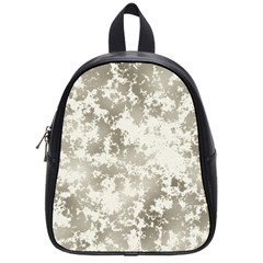 Wall Rock Pattern Structure Dirty School Bags (Small)