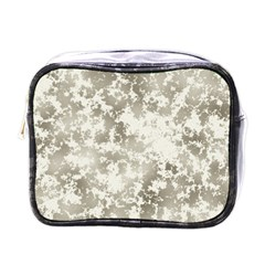 Wall Rock Pattern Structure Dirty Mini Toiletries Bags