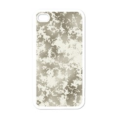 Wall Rock Pattern Structure Dirty Apple iPhone 4 Case (White)