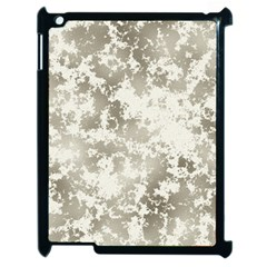 Wall Rock Pattern Structure Dirty Apple iPad 2 Case (Black)