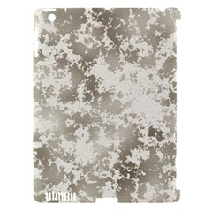 Wall Rock Pattern Structure Dirty Apple iPad 3/4 Hardshell Case (Compatible with Smart Cover)