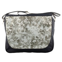 Wall Rock Pattern Structure Dirty Messenger Bags