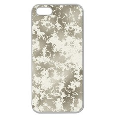 Wall Rock Pattern Structure Dirty Apple Seamless iPhone 5 Case (Clear)