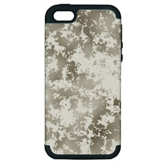 Wall Rock Pattern Structure Dirty Apple iPhone 5 Hardshell Case (PC+Silicone)