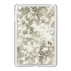 Wall Rock Pattern Structure Dirty Apple iPad Mini Case (White)