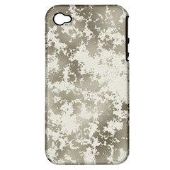 Wall Rock Pattern Structure Dirty Apple iPhone 4/4S Hardshell Case (PC+Silicone)