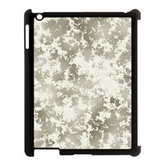 Wall Rock Pattern Structure Dirty Apple iPad 3/4 Case (Black)