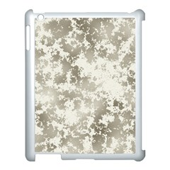 Wall Rock Pattern Structure Dirty Apple iPad 3/4 Case (White)