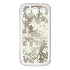 Wall Rock Pattern Structure Dirty Samsung Galaxy S3 Back Case (White)