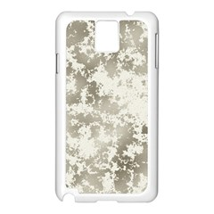 Wall Rock Pattern Structure Dirty Samsung Galaxy Note 3 N9005 Case (White)