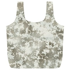 Wall Rock Pattern Structure Dirty Full Print Recycle Bags (l)