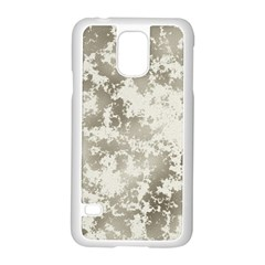 Wall Rock Pattern Structure Dirty Samsung Galaxy S5 Case (White)