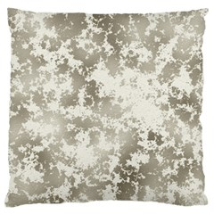 Wall Rock Pattern Structure Dirty Large Flano Cushion Case (One Side)