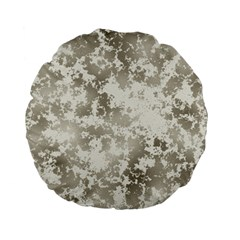 Wall Rock Pattern Structure Dirty Standard 15  Premium Flano Round Cushions