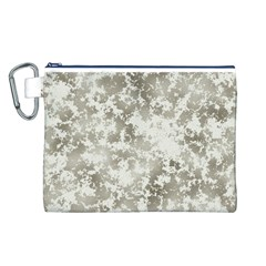 Wall Rock Pattern Structure Dirty Canvas Cosmetic Bag (L)