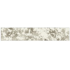 Wall Rock Pattern Structure Dirty Flano Scarf (Large)