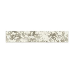 Wall Rock Pattern Structure Dirty Flano Scarf (Mini)