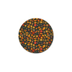 Pattern Background Ethnic Tribal Golf Ball Marker (10 pack)