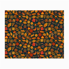 Pattern Background Ethnic Tribal Small Glasses Cloth