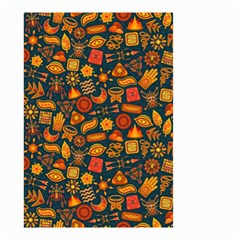 Pattern Background Ethnic Tribal Small Garden Flag (Two Sides)