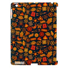 Pattern Background Ethnic Tribal Apple iPad 3/4 Hardshell Case (Compatible with Smart Cover)