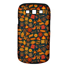 Pattern Background Ethnic Tribal Samsung Galaxy S III Classic Hardshell Case (PC+Silicone)