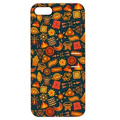 Pattern Background Ethnic Tribal Apple iPhone 5 Hardshell Case with Stand