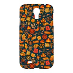 Pattern Background Ethnic Tribal Samsung Galaxy S4 I9500/I9505 Hardshell Case