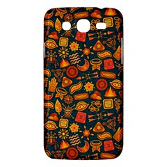 Pattern Background Ethnic Tribal Samsung Galaxy Mega 5.8 I9152 Hardshell Case