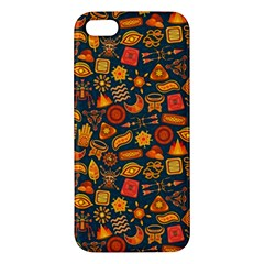 Pattern Background Ethnic Tribal iPhone 5S/ SE Premium Hardshell Case