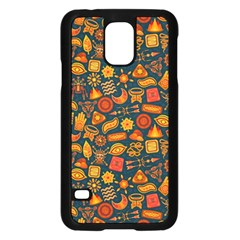Pattern Background Ethnic Tribal Samsung Galaxy S5 Case (Black)