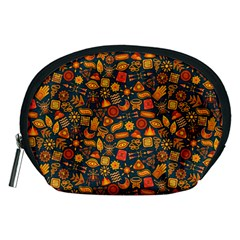 Pattern Background Ethnic Tribal Accessory Pouches (Medium)
