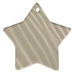 Sand Pattern Wave Texture Ornament (star)