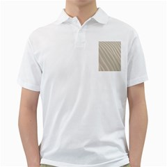 Sand Pattern Wave Texture Golf Shirts