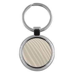 Sand Pattern Wave Texture Key Chains (round)
