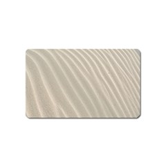 Sand Pattern Wave Texture Magnet (Name Card)