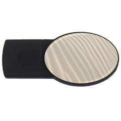 Sand Pattern Wave Texture USB Flash Drive Oval (1 GB)