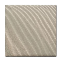 Sand Pattern Wave Texture Face Towel