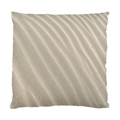Sand Pattern Wave Texture Standard Cushion Case (one Side)