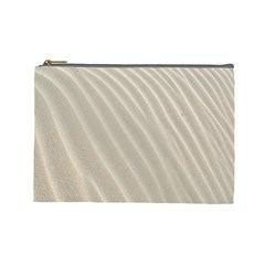 Sand Pattern Wave Texture Cosmetic Bag (large)