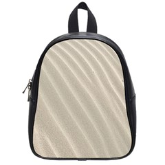 Sand Pattern Wave Texture School Bags (small)