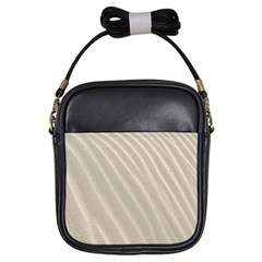 Sand Pattern Wave Texture Girls Sling Bags