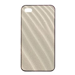 Sand Pattern Wave Texture Apple iPhone 4/4s Seamless Case (Black)
