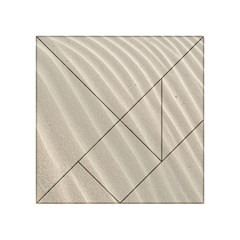 Sand Pattern Wave Texture Acrylic Tangram Puzzle (4  x 4 )