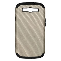 Sand Pattern Wave Texture Samsung Galaxy S III Hardshell Case (PC+Silicone)