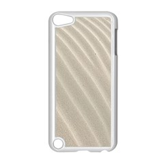 Sand Pattern Wave Texture Apple iPod Touch 5 Case (White)