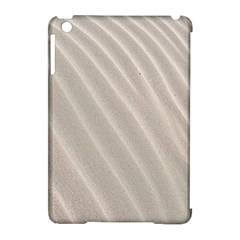 Sand Pattern Wave Texture Apple iPad Mini Hardshell Case (Compatible with Smart Cover)