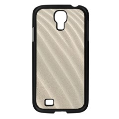 Sand Pattern Wave Texture Samsung Galaxy S4 I9500/ I9505 Case (black)