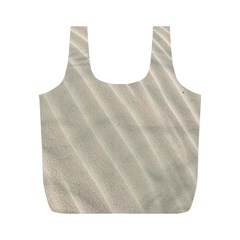 Sand Pattern Wave Texture Full Print Recycle Bags (M)