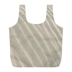 Sand Pattern Wave Texture Full Print Recycle Bags (L)